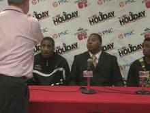 Postgame Interviews: Dudley (Dec. 26, 2012)
