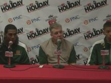 Postgame interviews: DeSoto (Dec. 29)