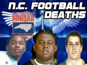 Three North Carolina high school football players have died since August. Two of the deaths were due to head injuries.
