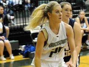 Ravenscroft senior Lindsay Cowher has decided to play basketball at Wofford College, the Raleigh school announced Tuesday morning. (Photo by Chris Watters)