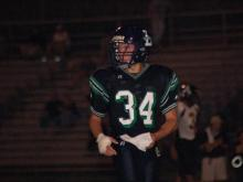 Leesville Road wide receiver and defensive back Cameron Todd (Photo courtesy Leesville Road High School)