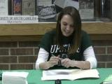 Video: Rachel Collins signs with USC-Upstate for soccer