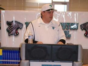 Randy Ragland introduced as head football coach at West Johnston (Feb. 11, 2010)