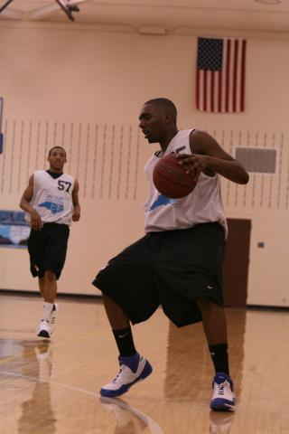 Dudley's P.J. Hairston at the Carolina Challenge. (Photo Courtesy: Dave Telep)
