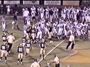 Pinecrest vs. Union Pines brawl