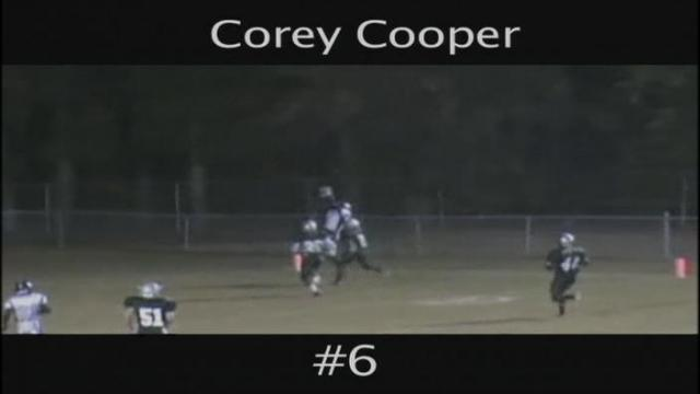 FB: Corey Cooper, WR (Millbrook, 2013)