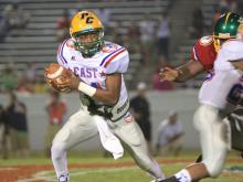 The West defeated the East 19-7 in the NCCA East-West All-Star Football Game.