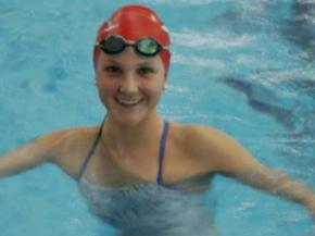 Green Hope swimmer Hannah Moore