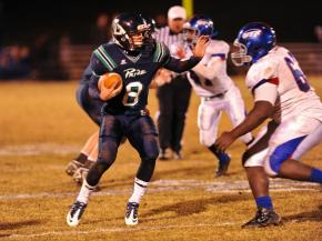This was the NCHSAA 4-AA second round of the play-offs.  Leesville wins 49 to 20.