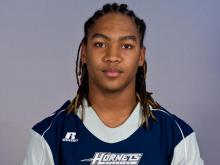 Khris Francis plays running back for Hillside and is a member of the Class of 2013.