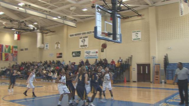Rocky Mount girls topped Holly Springs