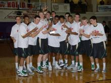 Ravenscroft defeated Wesleyan 53-44 to win the Summit Hospitality Bracket Championship in the HighSchoolOT.com Holiday Invitational Friday.