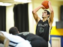 Boys Basketball: Ravenscroft vs. Upper Room (Jan. 18, 2012)