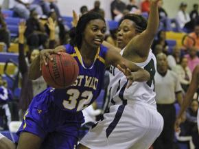Girls Basketball: East Wake vs. Southeast Raleigh (Feb. 17, 2012)