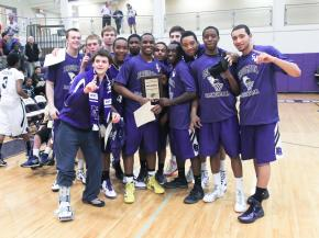 Broughton wins the Cap 8 championship defeating Millbrook 52 to 34 Friday night February 17, 2012. (Photo by Jack Tarr)