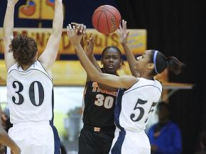 Girls Basketball: South View vs. Millbrook (Mar. 3, 2012)