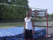 Enloe high jumper Jonathan Addison