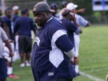 Antonio King is the head football coach at Hillside High School in Durham.