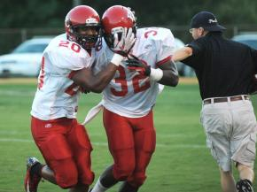 Hoke County vs. Seventy-First (Aug. 31, 2012)