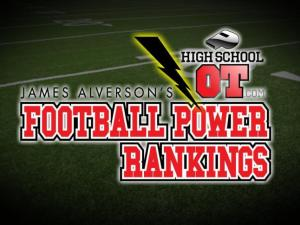 James Alverson's Football Power Rankings