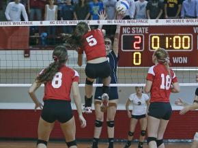 1-A Volleyball: Raleigh Charter vs. Hendersonville (Nov. 3, 2012)