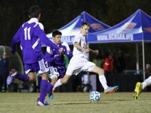 Cuthbertson pulled away from Carrboro late in the second half, scoring three unanswered goals to win the 2-A boys soccer state title.