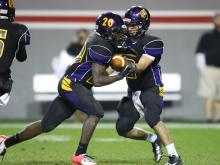 Trai Sharp is a running back at Carrboro High School and a member of the Class of 2015.
