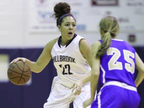 Girls Basketball: Broughton vs. Millbrook (Dec. 14, 2012)
