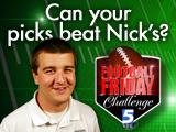 Nick's picks promo graphic