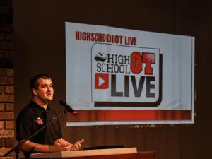 HighSchoolOT fooball kickoff - WRAL station July 29, 2016