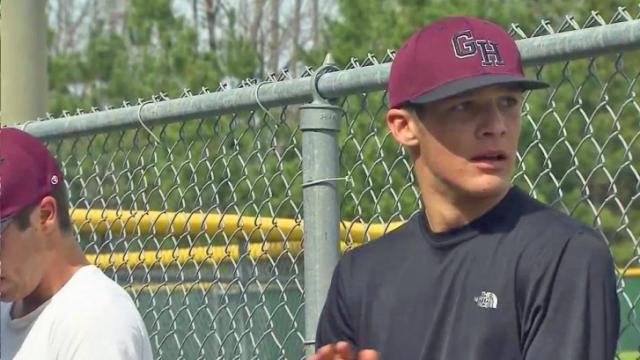Green Hope athlete back on his feet