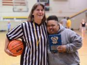 Garner hosts 'March Madness' for adaptive PE students (Mar. 11, 2016)