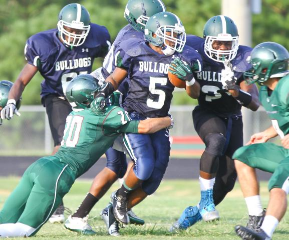Football: Green Hope vs. Southeast Raleigh (Aug. 12, 2013)