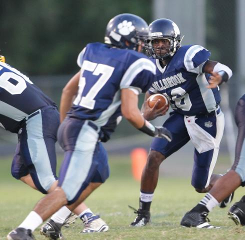 Football: East Wake vs. Millbrook (Sept. 6, 2013)