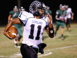 Football: Cleveland vs. Green Hope (Sept. 13, 2013)