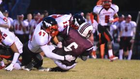 Wakefield vs Middle Creek on Sept. 20, 2013