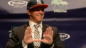 Press Conference for Braxton Berrios - October 12, 2013 at Leasv