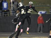 Football: Garner vs. Knightdale (Oct. 25, 2013)