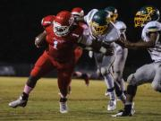 Football: Pine Forest vs. Seventy-First (Nov. 1, 2013)