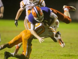 Football: Fuquay-Varina vs. Athens Drive (Nov. 1, 2013)