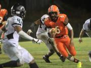 Football: Cardinal Gibbons vs. Orange (Nov. 1, 2013)