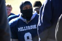 Millbrook holds a Thanksgiving Day football practice on Thursday, Nov. 28, 2013. (Photo By: Nick Stevens)