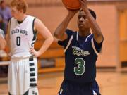Boys Basketball: Leesville Road vs. Green Hope (Dec. 6, 2013)