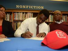 See and submit photos of 2014 National Signing Day.