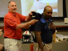 WCPSS coaches get trained by USA Football (June 12, 2014)