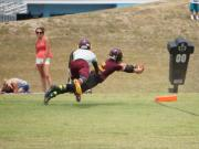 7-on-7: Overhills hosts Douglas Byrd, Seventy-First, E.E. Smith and others (July 9, 2014)