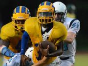 Football: Ravenscroft hosts 4-team scrimmage (Aug. 11, 2014)