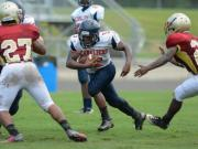 Football: Triton hosts Harnett County Jamboree (Aug. 12, 2014)
