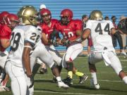 Football: Cumberland County Jamboree held at Fayetteville State (Aug. 14, 2014)