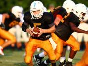 Football: Holly Springs hosts Clayton, Fuquay-Varina, Garner (Aug. 15, 2014)